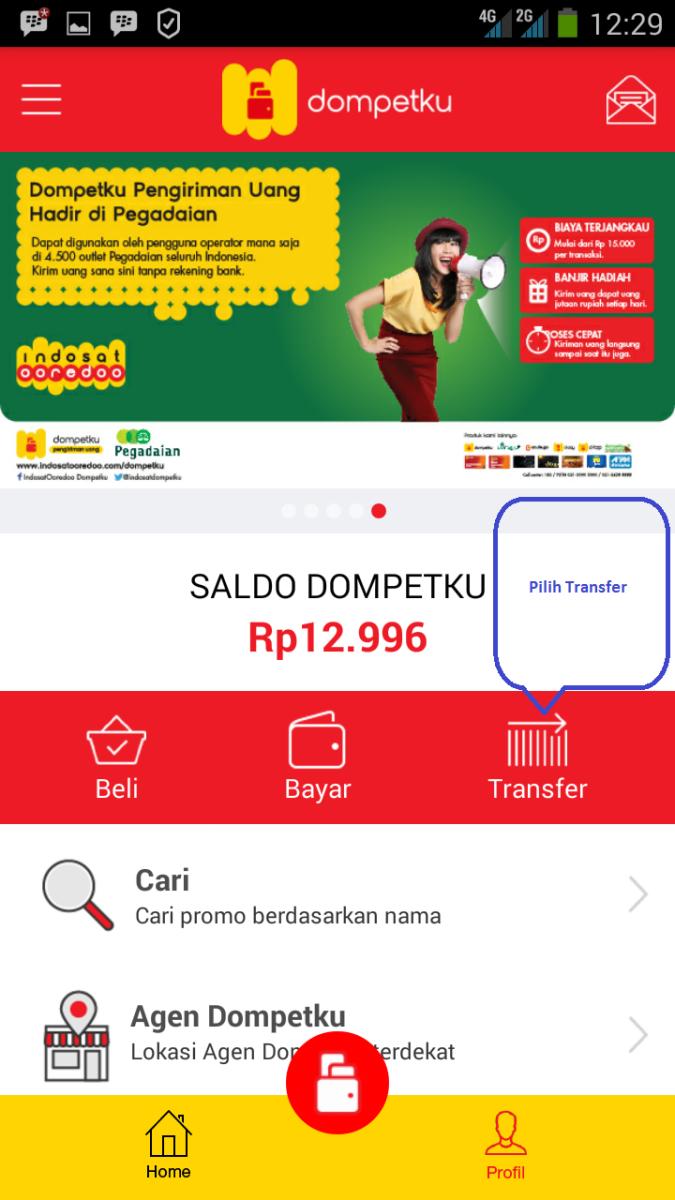 Cara mengirim uang Dari Skrill ke Indosat Dompetku